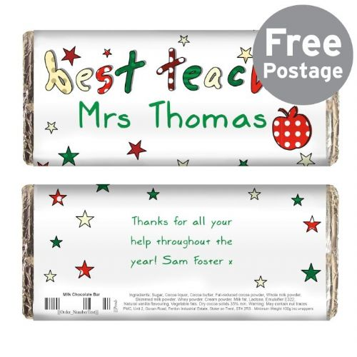 Teacher Milk Chocolate Bar
